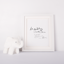 Load image into Gallery viewer, Personalised Hand Written Letter - PRINTS279
