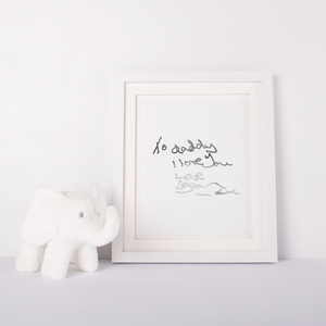 Personalised Hand Written Letter - PRINTS279