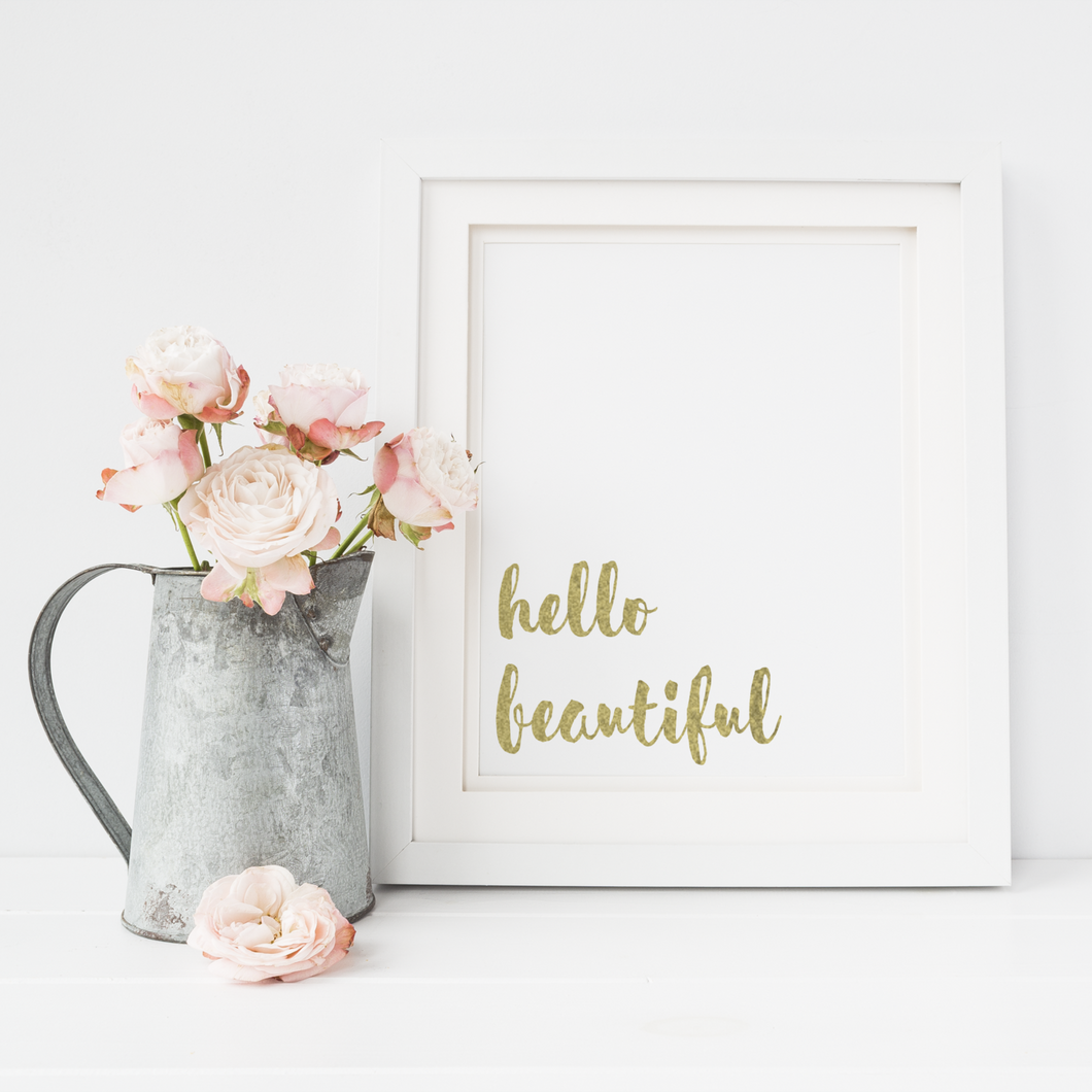 Hello Beautiful - PRINTS279