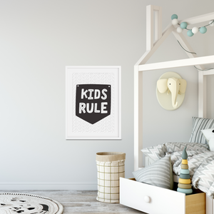 Kids Rule - PRINTS279
