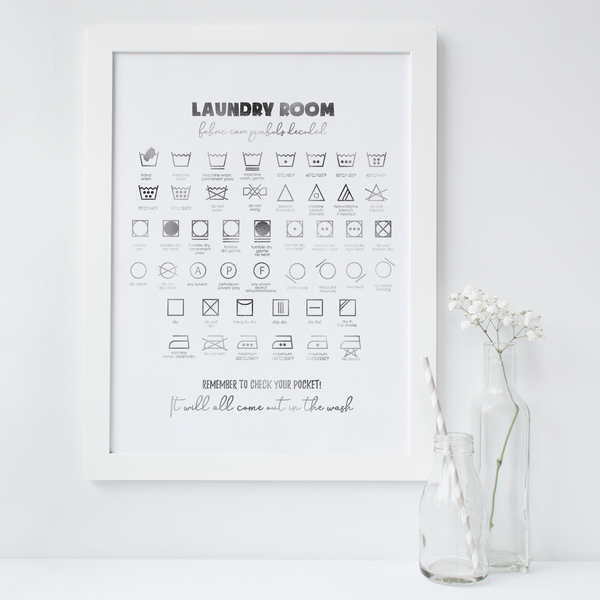 Laundry Guide - PRINTS279