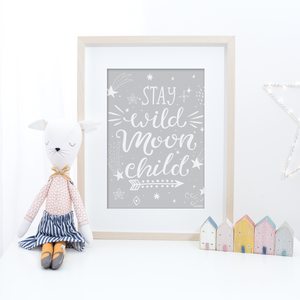 Stay Wild Moon Child - Colour - PRINTS279