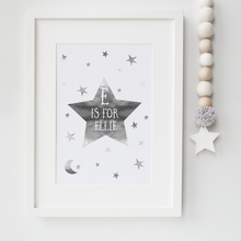 Load image into Gallery viewer, Personalised Star - PRINTS279