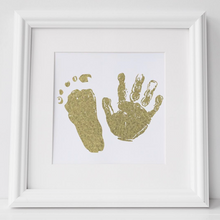 Load image into Gallery viewer, Personalised Hand and Footprint Foil Print - PRINTS279