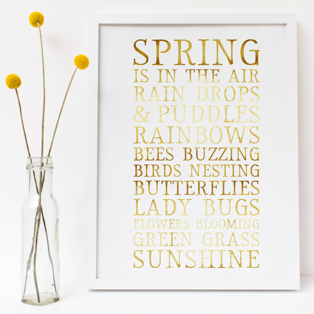 Spring Is In The Air - PRINTS279