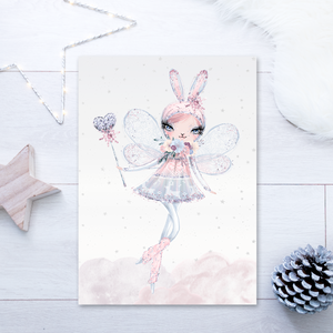 Winter Fairy Bunny - PRINTS279