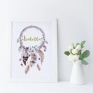 Personalised Dreamcatcher - PRINTS279