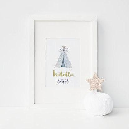 Personalised Teepee - PRINTS279
