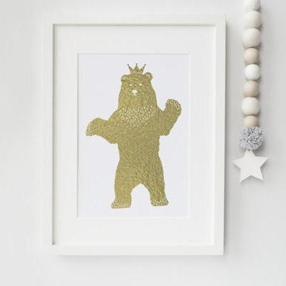 King Bear - PRINTS279