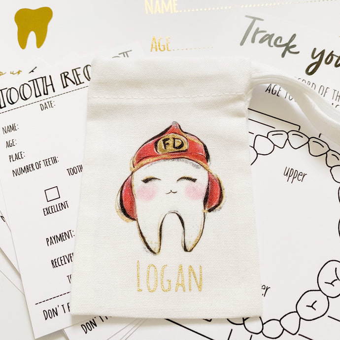 Tooth Fairy Characters Bag Set