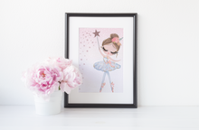 Load image into Gallery viewer, Pretty Ballerina - Colour - PRINTS279