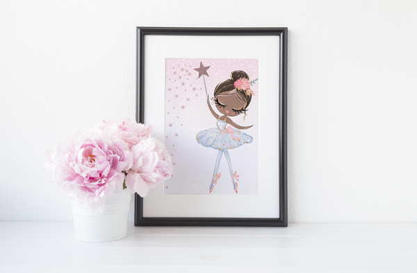 Pretty Ballerina - Colour - PRINTS279
