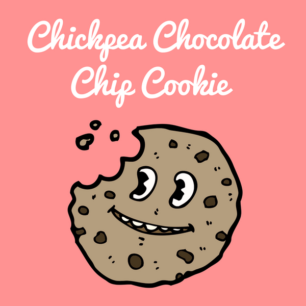Chickpea chocolate chip cookie