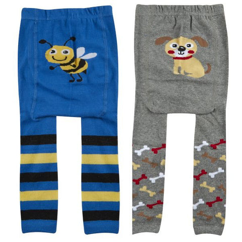 Boys Baby Patch Panel Leggings