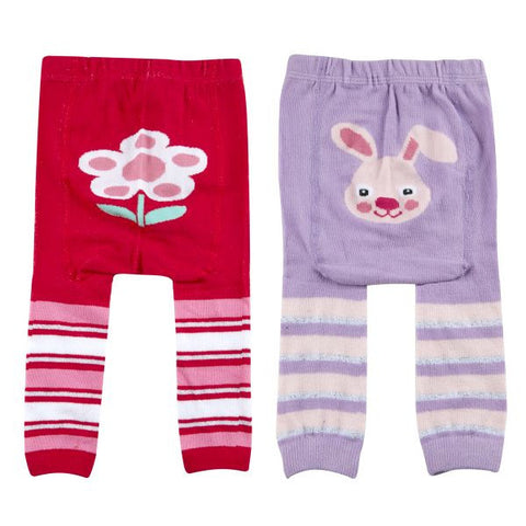 Girls Baby Patch Panel Leggings