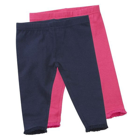 Girls Baby Leggings - 2 Pack