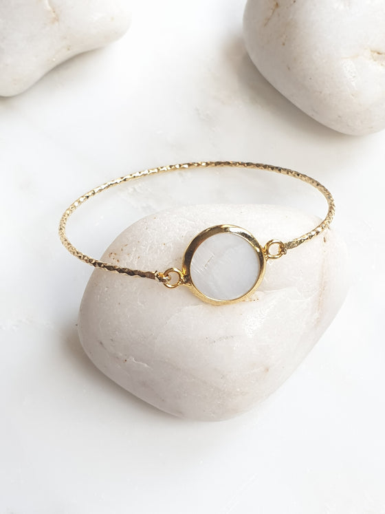 Mother or Pearl bangle