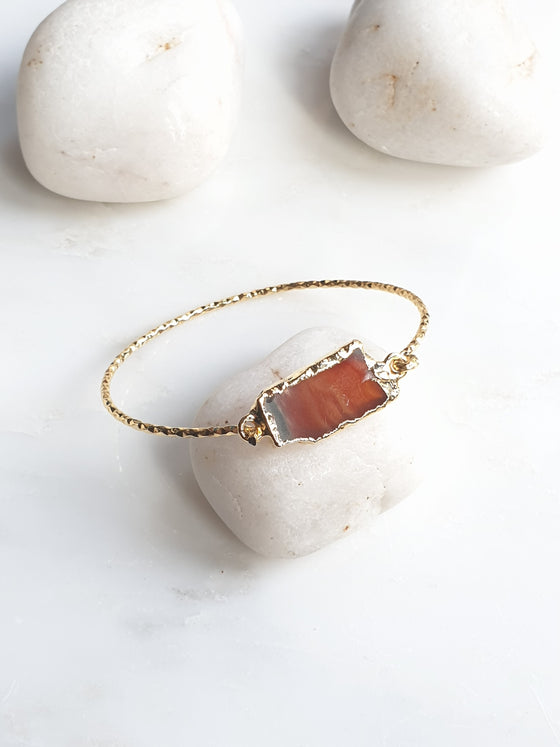 Sardonyx Agate bangle