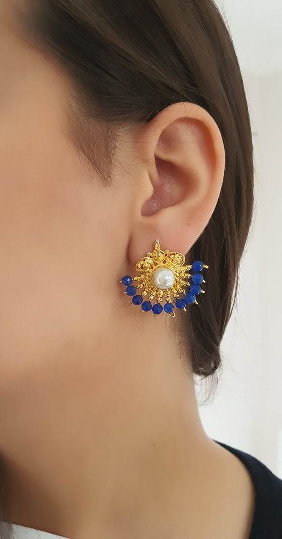 Turquoise Shehzadeh Earrings
