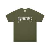 Green Overtime Stamp Tee