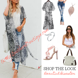 Shop the Look - Beautiful Disaster