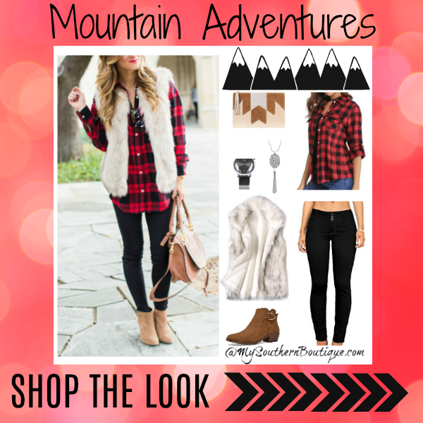 Shop the Look - Mountain Adventure