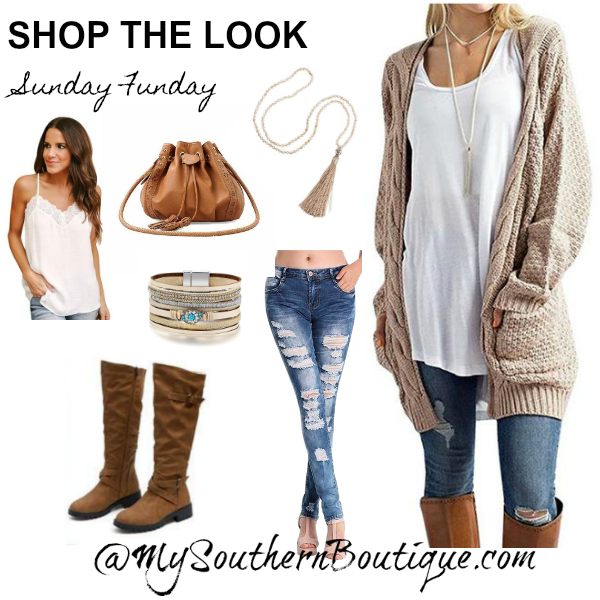 Shop the Look - Sunday Funday
