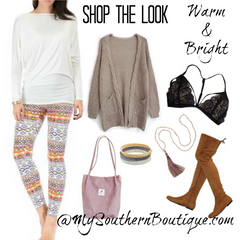 SHOP THE LOOK - Warm & Bright