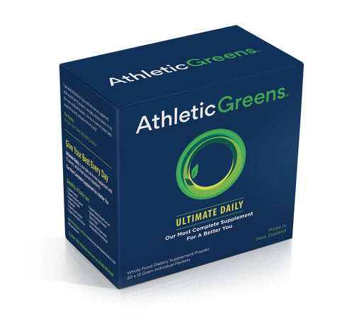 Athletic Greens Ultimate Daily Travel Packs (20 count)