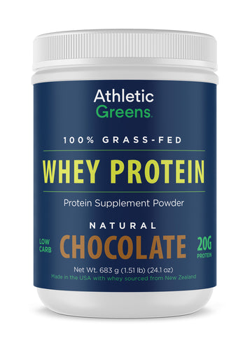 Athletic Greens 100% Grass-Fed Whey Protein - Chocolate