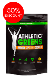 Athletic Greens® (30 Servings) Single