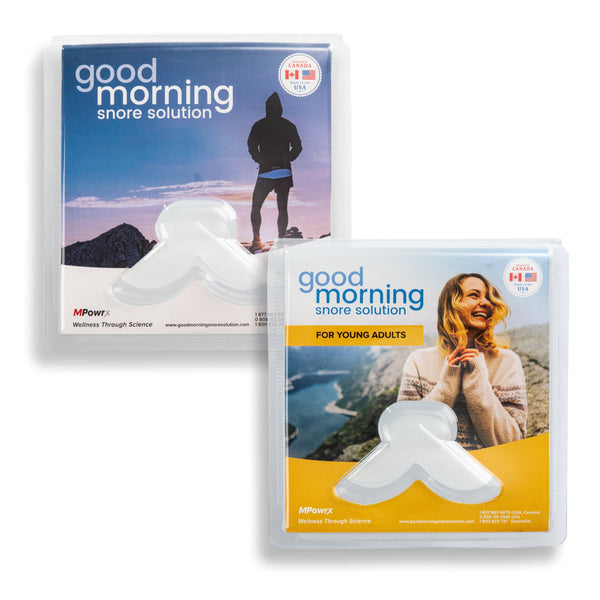 Good Morning Snore Solution Sizing Pack