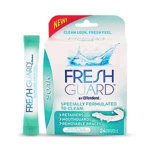 Efferdent Fresh Guard Certified Mouthpiece Cleaner (24 Packet)