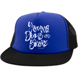 Young Dumb & Broke Trucker Hat with Snapback