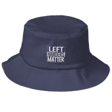 Left Handers Matter Old School Bucket Hat