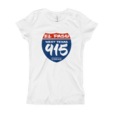 Highway 915 Youth Girl's T-Shirt