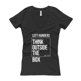 Think Outside The Box Women's V-Neck