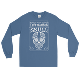 Left Handed Skull Long Sleeve T-Shirt