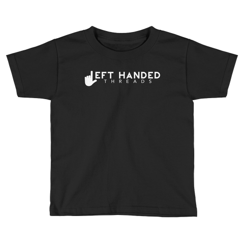Left Handed Threads Logo Kids T-Shirt