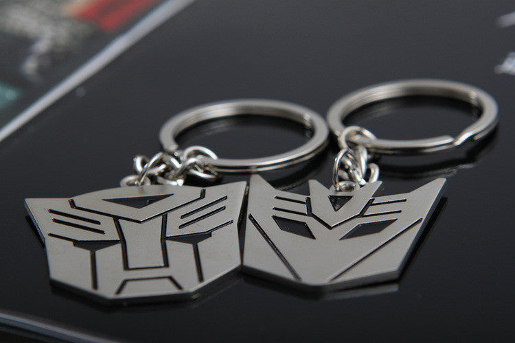 1 Pair Of Transformers Keychain Key Ring