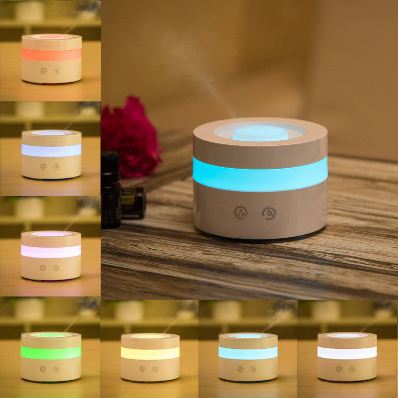 USB Essential Oil Diffuser With LED Lights