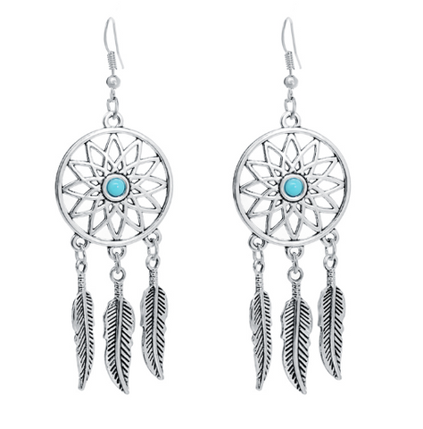 Women's Dream Catcher Earrings