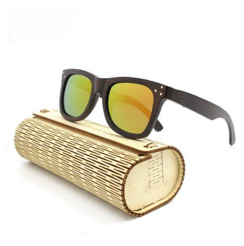 HOT New Bamboo POLARIZED Sunglasses