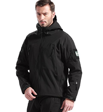 Windproof Waterproof Soft Shell Tactical Jacket