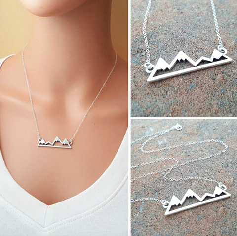 Mountains Necklace