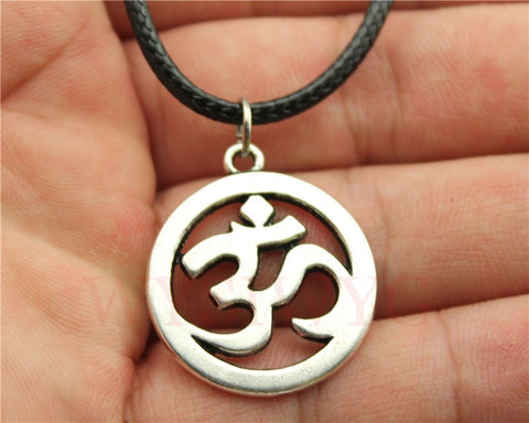 """Om"" Symbol Necklace"