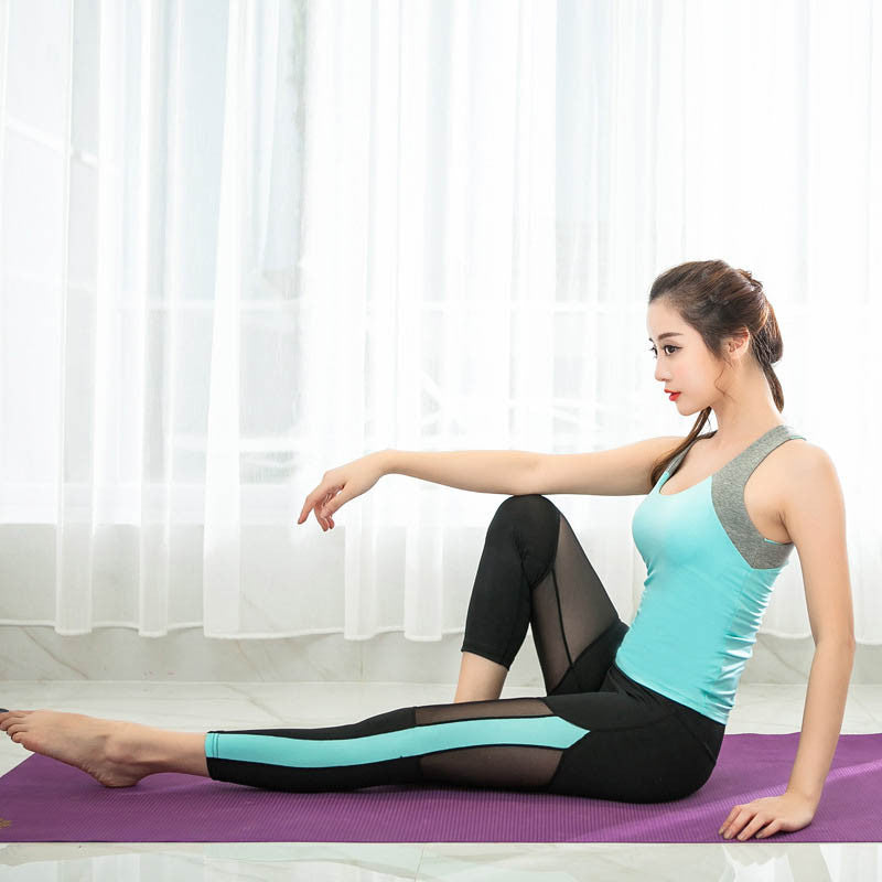 Women's Lace-Mesh Breathable Yoga Leggings
