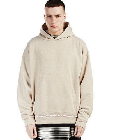 Khaki Pullover Hoodie- FREE SHIPPING