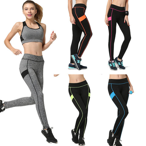 Women's Breathable High Waisted Sportswear Yoga Leggings