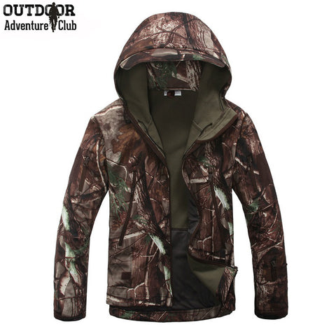 Military Waterproof Windproof Camouflage Tactical Jacket